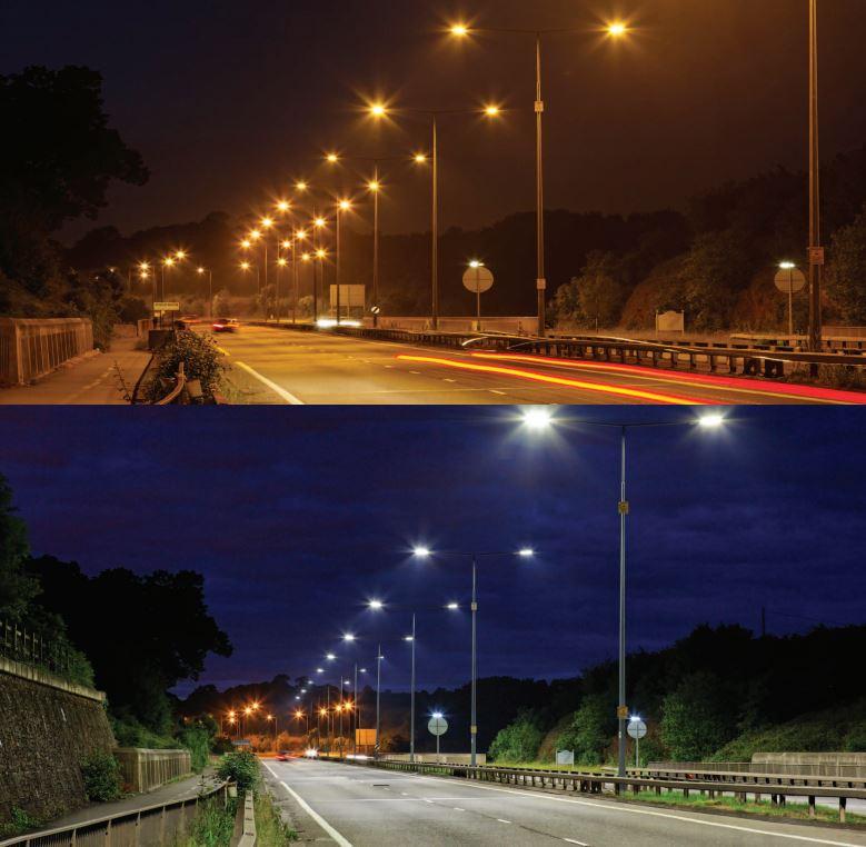 LED-strassen-licht