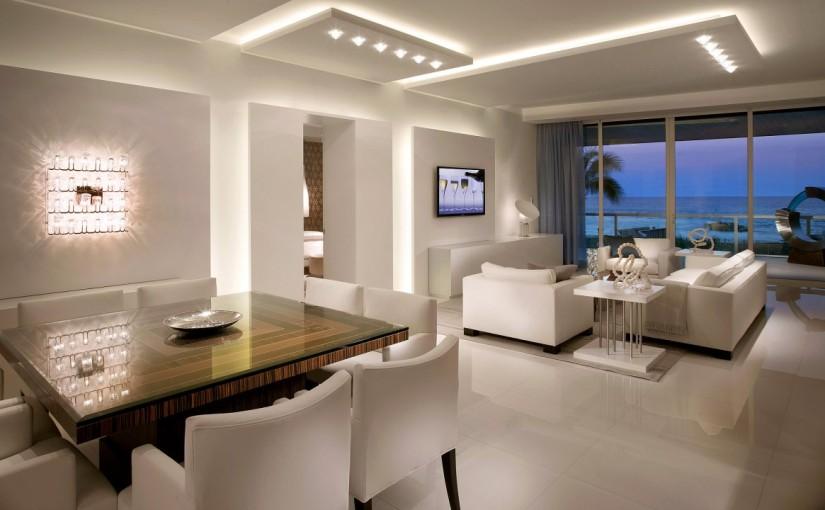 Das Esszimmer gesellig mit indirekte LED Beleuchtung anschaulich machen