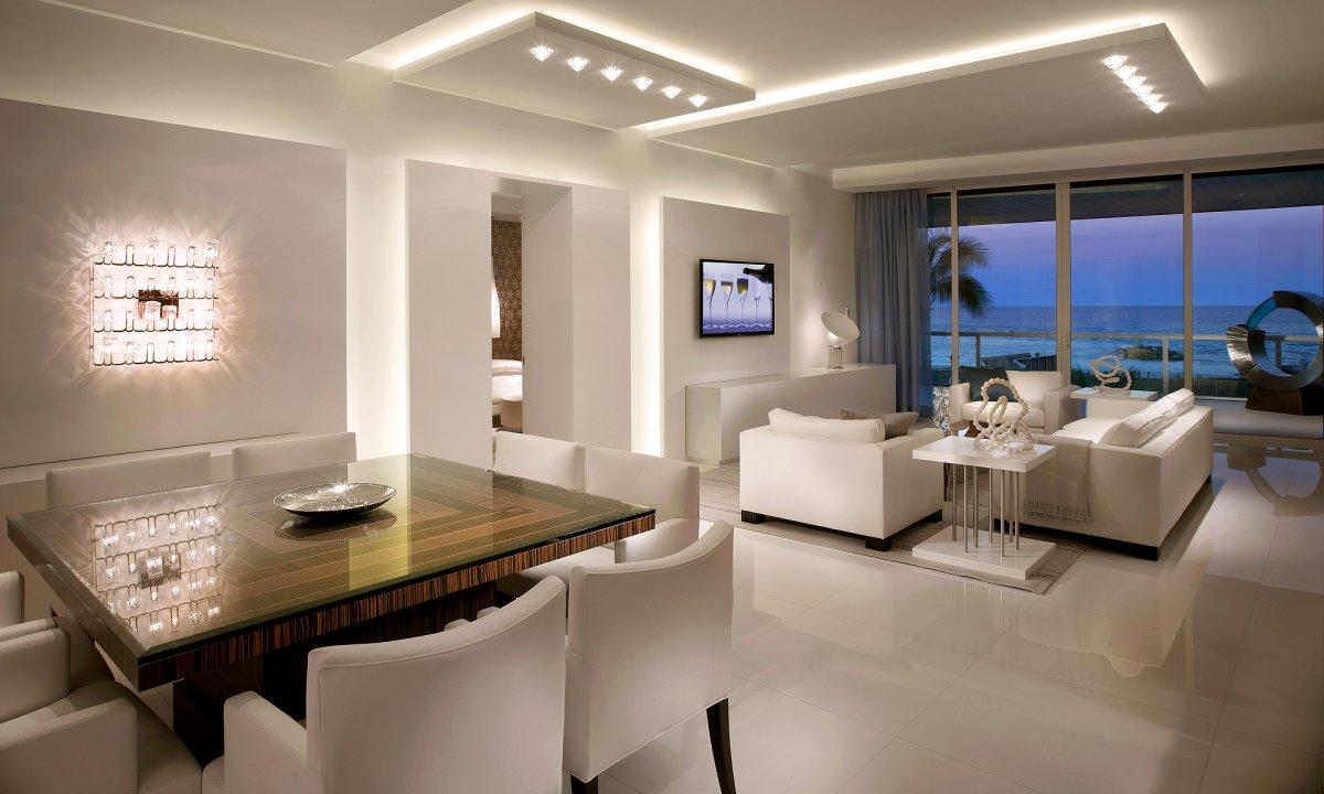 arten-von-led-lampen-in-dem-wohnzimmer