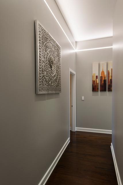 led-licht-in-dem-korridor