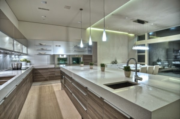 LED-Deckenleuchten in der Küche