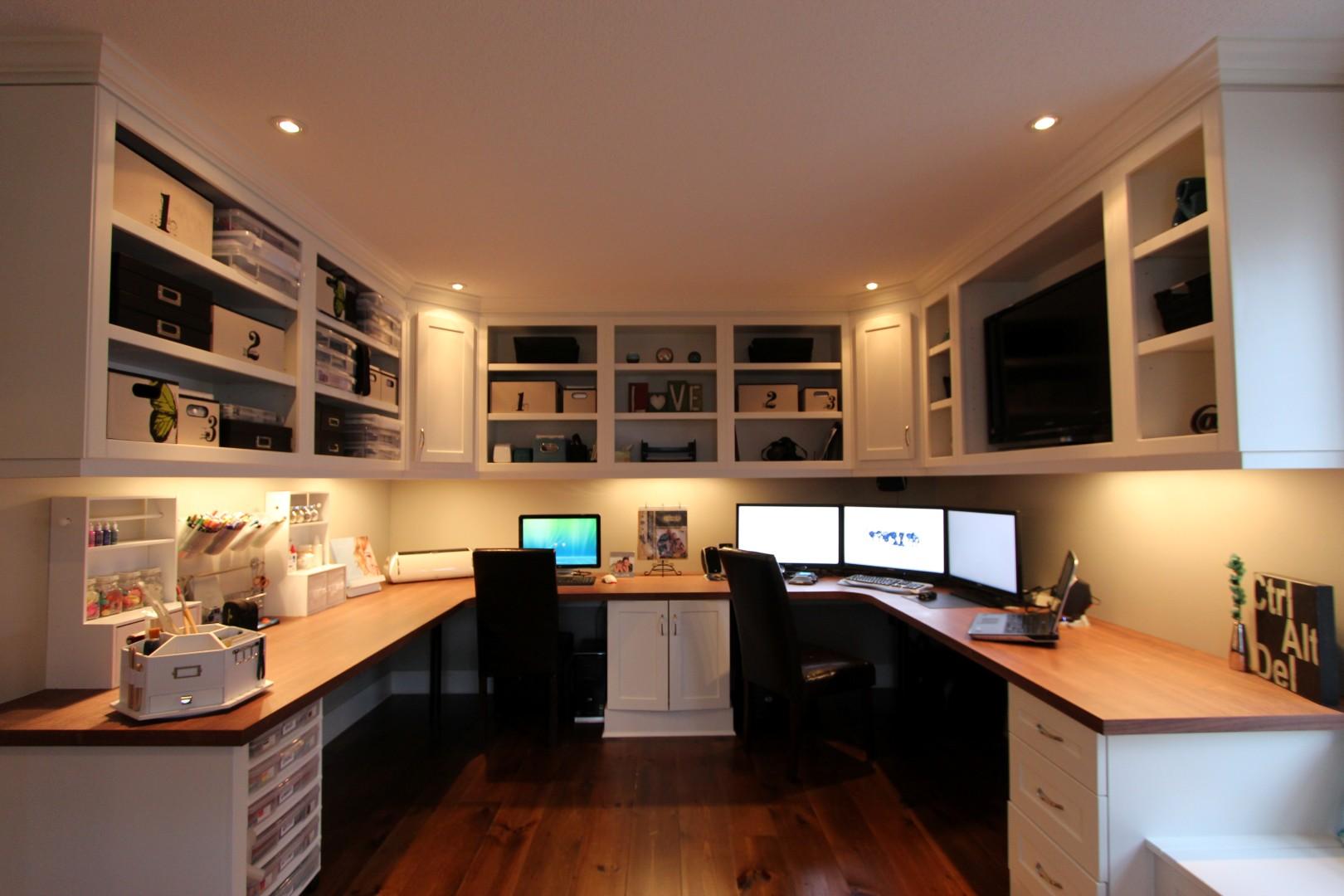led-bürobeleuchtung-arbeitszimmer